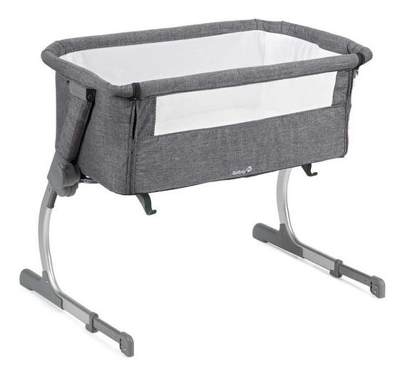 Berço Portátil Side By Side Safety 1st (até 9kgs) - Gray
