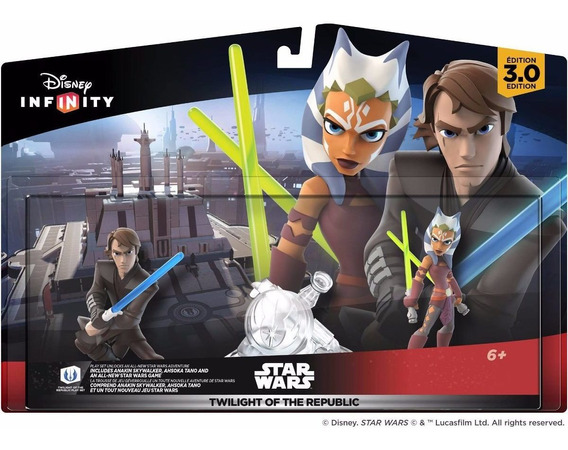 Disney Infinity 3.0 Pset Star Wars Twilight Of The Republic