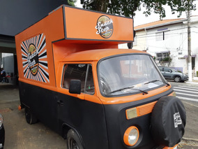 Food Truck Pronto Para Trabalhar