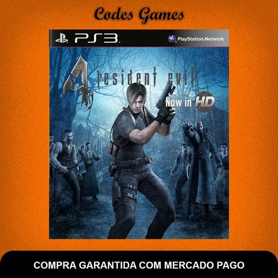 Resident Evil 4 Hd Remasterizado - Ps3 - Pronta Entrega