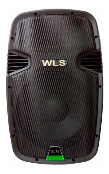 Caixa Ativa Wls Gp12 Usb Sd 330 Watts Visor Digital Monitor