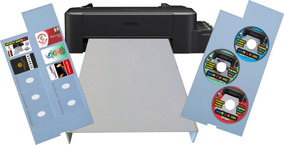 Impressora De Cartão Pvc / Cd / Dvd / Blu-ray Epson Inkjet