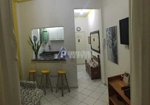 Imagem 1 de 7 de Apartamento À Venda, 1 Quarto, Copacabana - Rio De Janeiro/rj - 16016