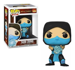 Funko Pop! Sub Zero 537 - Mortal Kombat
