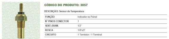 Sensor Temperatura Escort Tds Ate 89