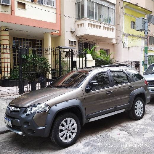 Fiat Weekend 2015 1.8 16v Adventure Flex 5p