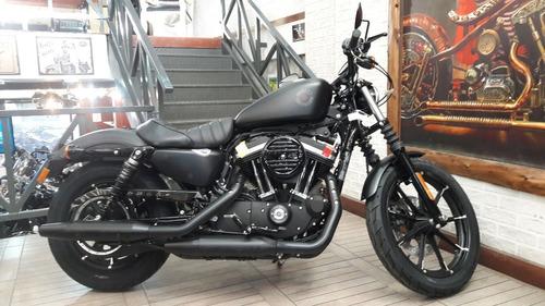Harley Davidson Iron Xl883n Negra