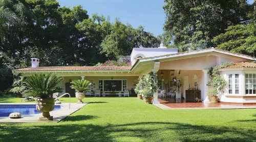 Residencia En Venta, Laureles, Temixco, Zona De Burgos, Cuernavaca Morelos