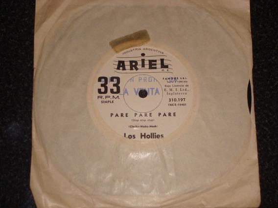 The Hollies - Disco Simple - Pare, Pare, Pare/eres Tu