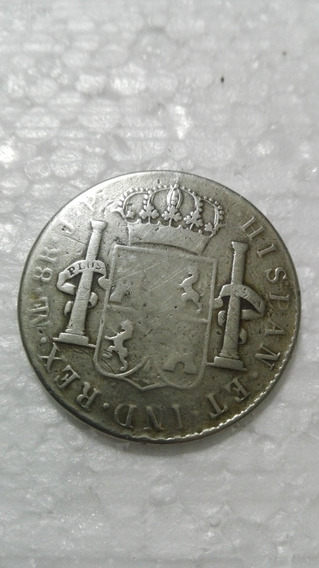 Moneda Antigua Carolus Iiii Perú 1805 8 Reales