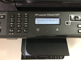 Impressora Hp Laser 1536dnf-mfp + Brinde 3 Toners 100%
