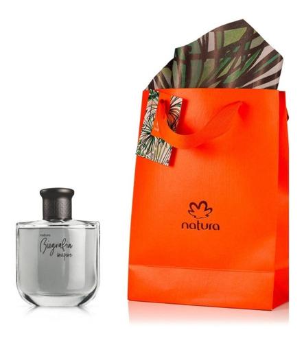 Perfume Masculino Biografía Inspire Natura Original