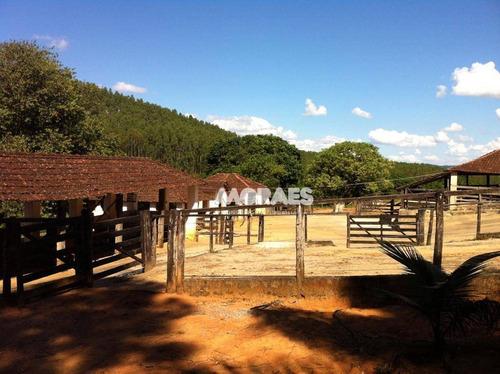 Fazenda À Venda, 350ha Por R$ 7.900.000 - Zona Rural - Carmo Do Rio Claro/mg - Fa0019