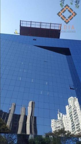 Imagem 1 de 8 de Conjunto Para Alugar, 258 M² Por R$ 16.900,00/mês - Cidade Monções - São Paulo/sp - Cj19951