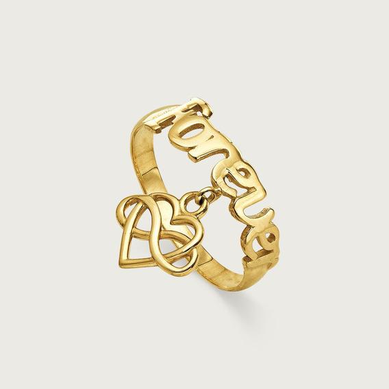 Anel Falange Lulean Em Ouro 18k (750)