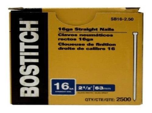 Descontinuado Sin Reemplazo Clavillo Cali Bostitch Sb16-2.50