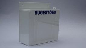 Urna/caixa Sugestão- Reclamações Branca