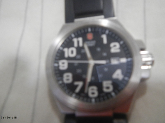 Relógio Victorinox Swiss Army 24410 Black Completo