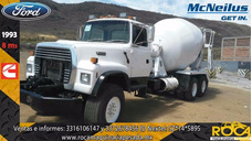 Camion Revolvedor De Concreto Ford 1993 Listo Para Trabajar