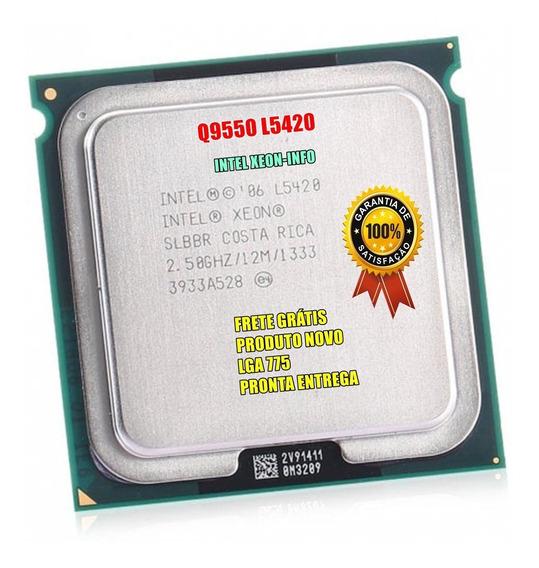 Processador Intel Core 2 Quad Q9550 Xeon E5420 775 + Brinde