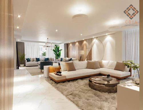 Apartamento Com 4 Dormitórios À Venda, 319 M² Por R$ 4.000.000,00 - Higienópolis - São Paulo/sp - Ap54145