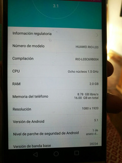 Huawei Rio Modelo L03