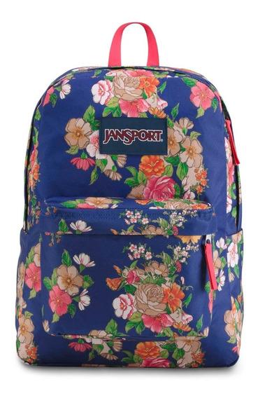 Zonazero Mochila Jansport Superbreak Paper Floral
