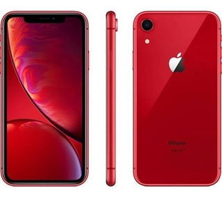iPhone Xr 64gb Red 4g Anatel Original Lacrado + Nota Fiscal