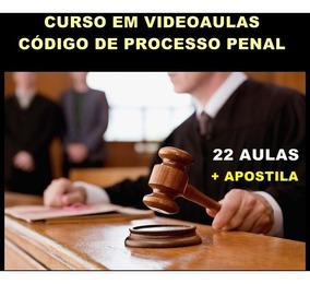 Videoaulas Código De Processo Penal + Apostila 2017 990 Pg