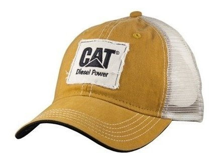 Cachucha Caterpillar 100% Original Power Diesel Bronce Cat30
