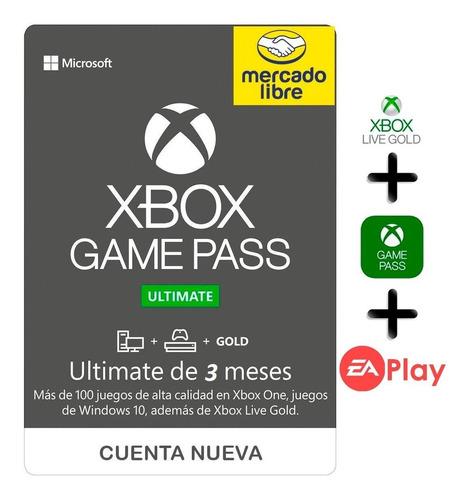 Imagen 1 de 1 de 3 Meses De Xbox Game Pass Ultimate Promoción No Codigo