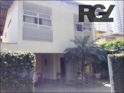 Casa Comercial Para Locação, Ponta Da Praia, Santos. - Ca0206