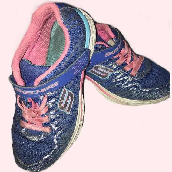 Zapatillas Skechers Original De Nena Usadas