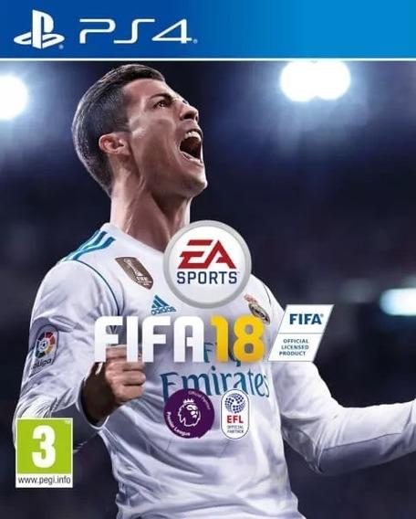 Fifa 18 Ps4 Envio Na Hora Promoção