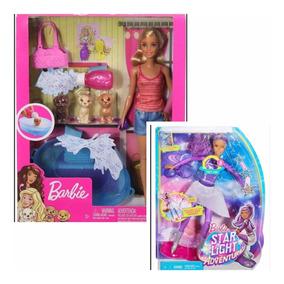 Barbie Banho Nos Pets + Barbie Aventura Nas Estrelas