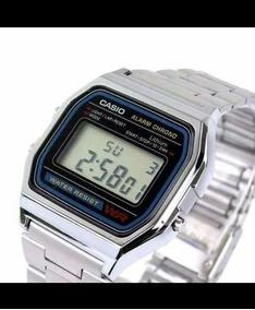 Relógio Casio Original A158 Aço Inox