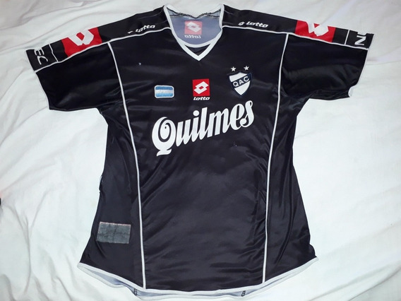 Camiseta Antigua Ca,quilmes Lotto 2004 #13 Xl