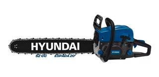 Motosierra Hyundai Turbo 500 52cc 20 2.2kw 550ml Profesi Sti