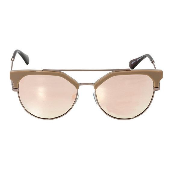 Óculos De Sol Feminino Arredondado Rosê Rose