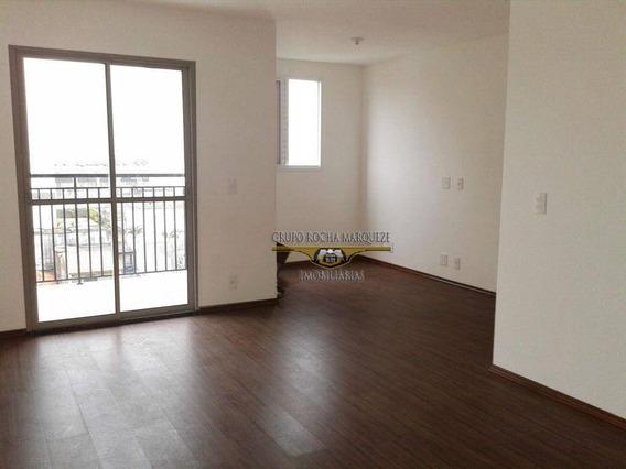 Apartamento Com 3 Dormitórios Para Alugar, 67 M² Por R$ 1.300,00/mês - Vila Antonieta - São Paulo/sp - Ap0802