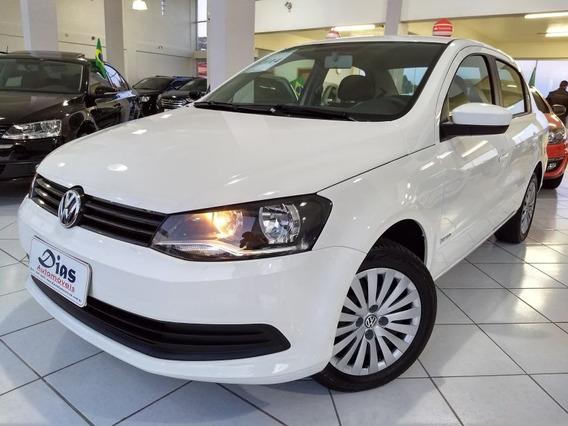 Volkswagen Voyage 1.6 Mi I-trend I-motion 8v 2014 Branca