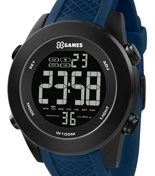 Relógio X-games Masculino Digital Azul - Xmnpd002 Pxdx