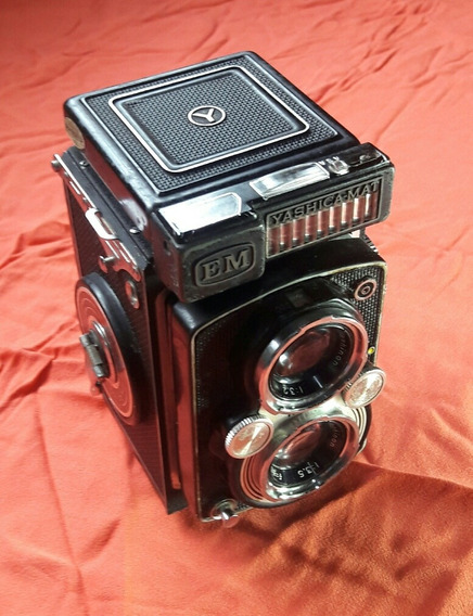 Câmera Yashica -mat Antiga 6x6(ler Descrição)