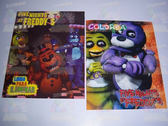 Five Nights Freddy Libros Colorear En Mercado Libre México