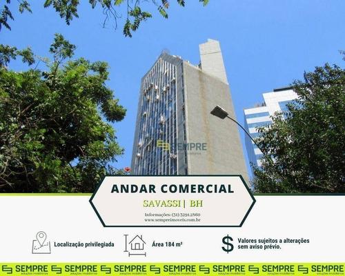 Imagem 1 de 25 de Andar Vão Livre À Venda, 184 M² - Savassi - Belo Horizonte/mg - Ac0035