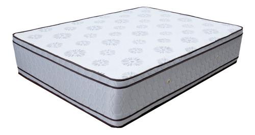 Colchon Queen Alta Densidad Espuma Ortopedico Pillow Top