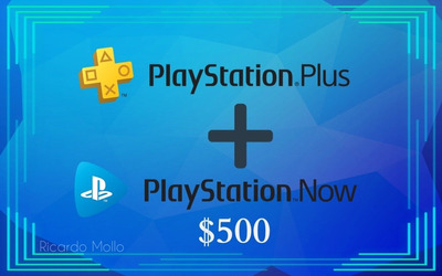 Playstation Plus+playstation Now