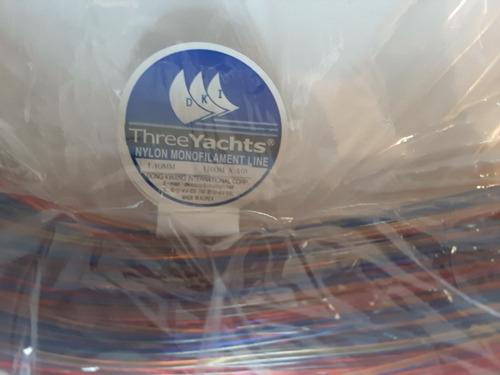 Nylon De Pesca # 1.40 Mm Alta Resistencia Madeja De 10x100