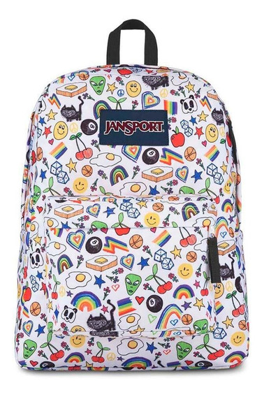 Mochila Jansport Superbreak Over The Rainbow