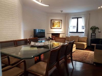 Apartamento Em Brooklin Paulista, São Paulo/sp De 166m² 3 Quartos À Venda Por R$ 1.490.000,00 - Ap228505